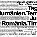Teatrul German de Stat Timișoara va transmite online Jurnal de România