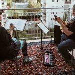 Scena dintre blocuri: artiști timișoreni au susținut concerte în spații alternative