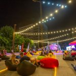 Atmosferă de vacanță, în parcul din Iulius Town: concert, filme, reprezentații sportive și teatru de păpuși