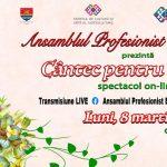 """Ansamblul Profesionist Banatul prezintă spectacolul """"Cântec pentru mama"""""""