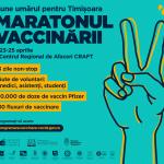 """Maratonul Vaccinării """"Pune umărul pentru Timișoara"""""""