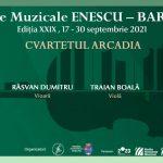 Cvartetul Arcadia încheie Zilele Muzicale Enescu – Bartók